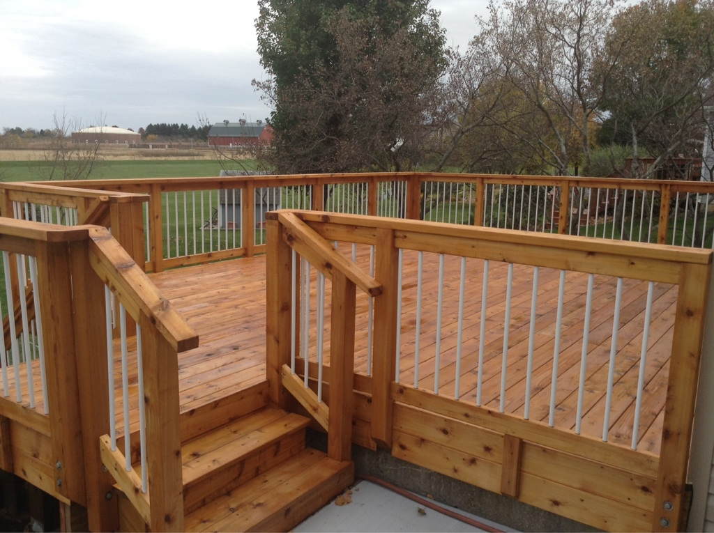 Deck Railings Deck Railing Systems Wood Composite